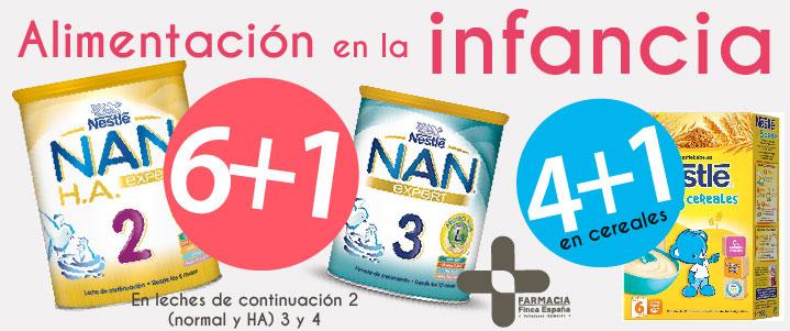 oferta 4+1 alimento infantil Nestle H