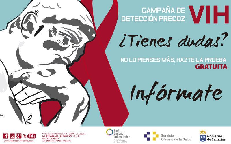 Prueba VIH confidencial gratuita