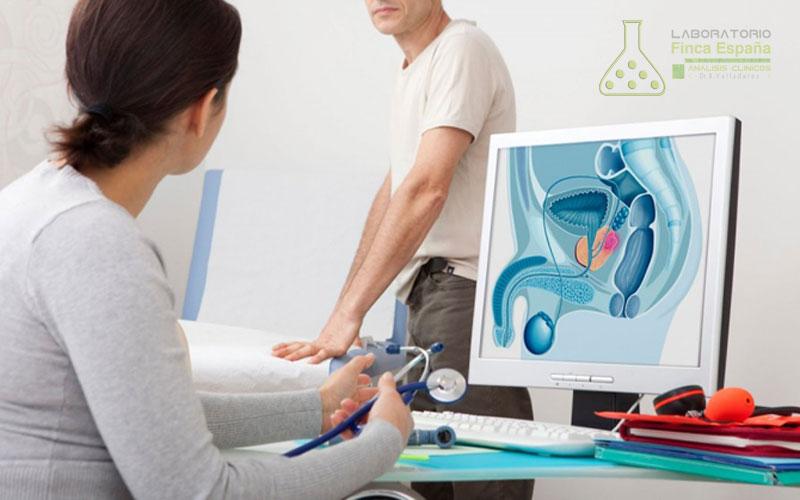 Prueba próstata laboratorio Tenerife