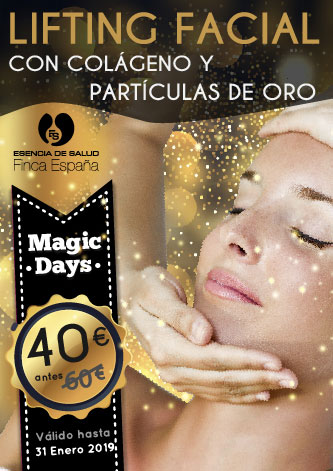 Magic Days: Lifting Facial con colágeno y partículas de oro